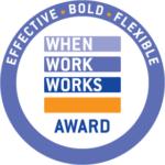 When Work Works Award logo